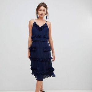 New True Decadence Premium Pleated Skater Dress